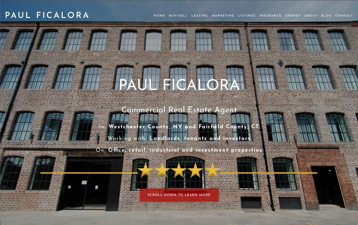 Paul Ficalora – Commercial Real Estate Agent