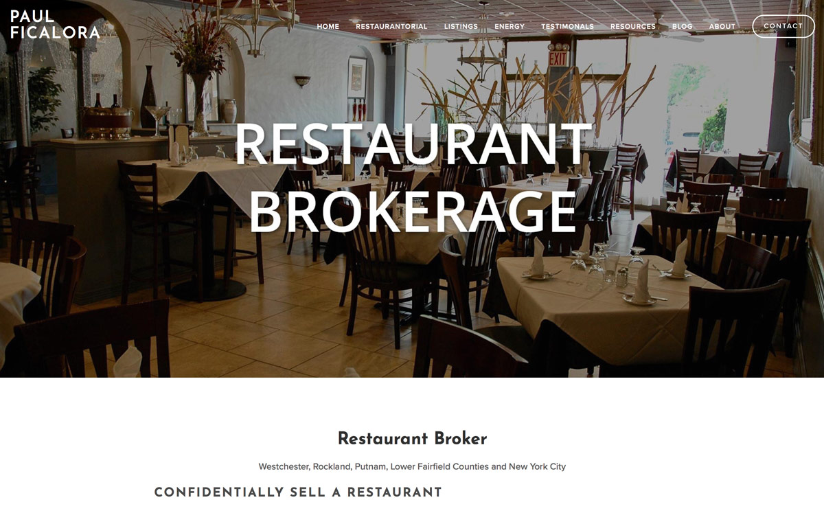 Paul Ficalora – Restaurant Business Advisor