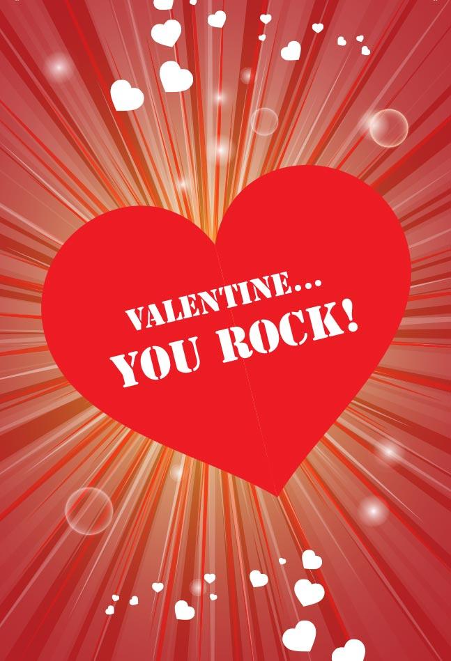 Rock Candy Valentine