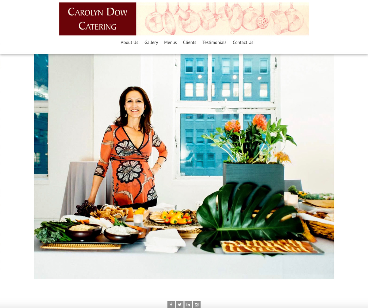 You are currently viewing Carolyn Dow Catering