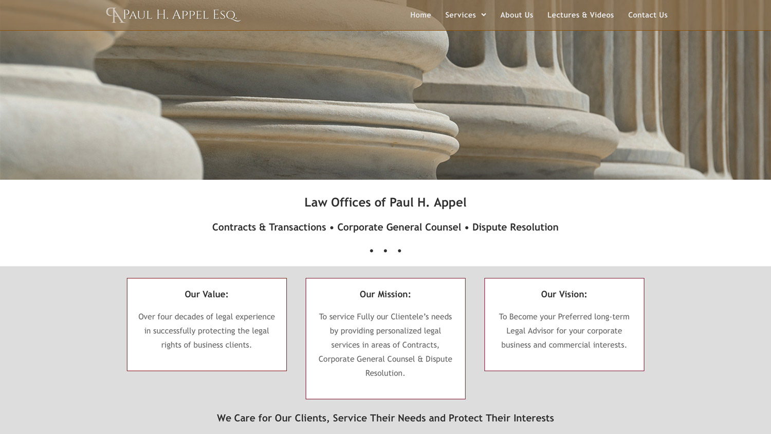 Paul Appel Law