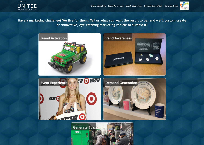 United Print Group Promo Site