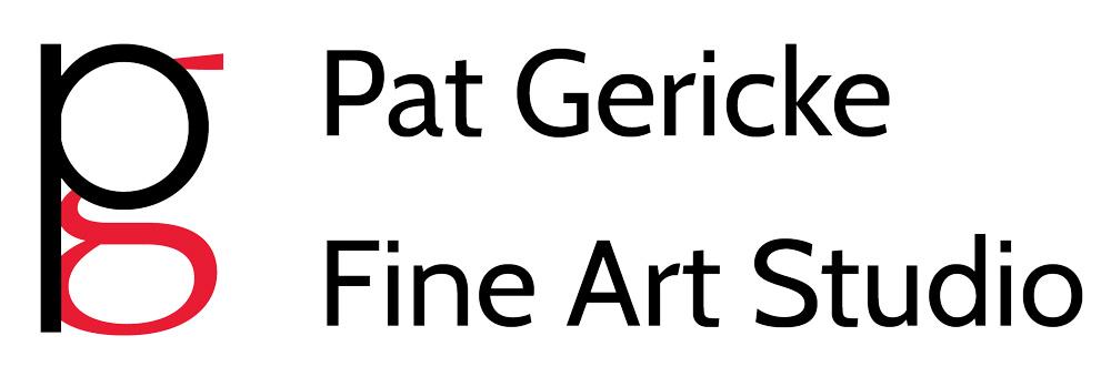 Logo - Pat GerickeFine Art Studio