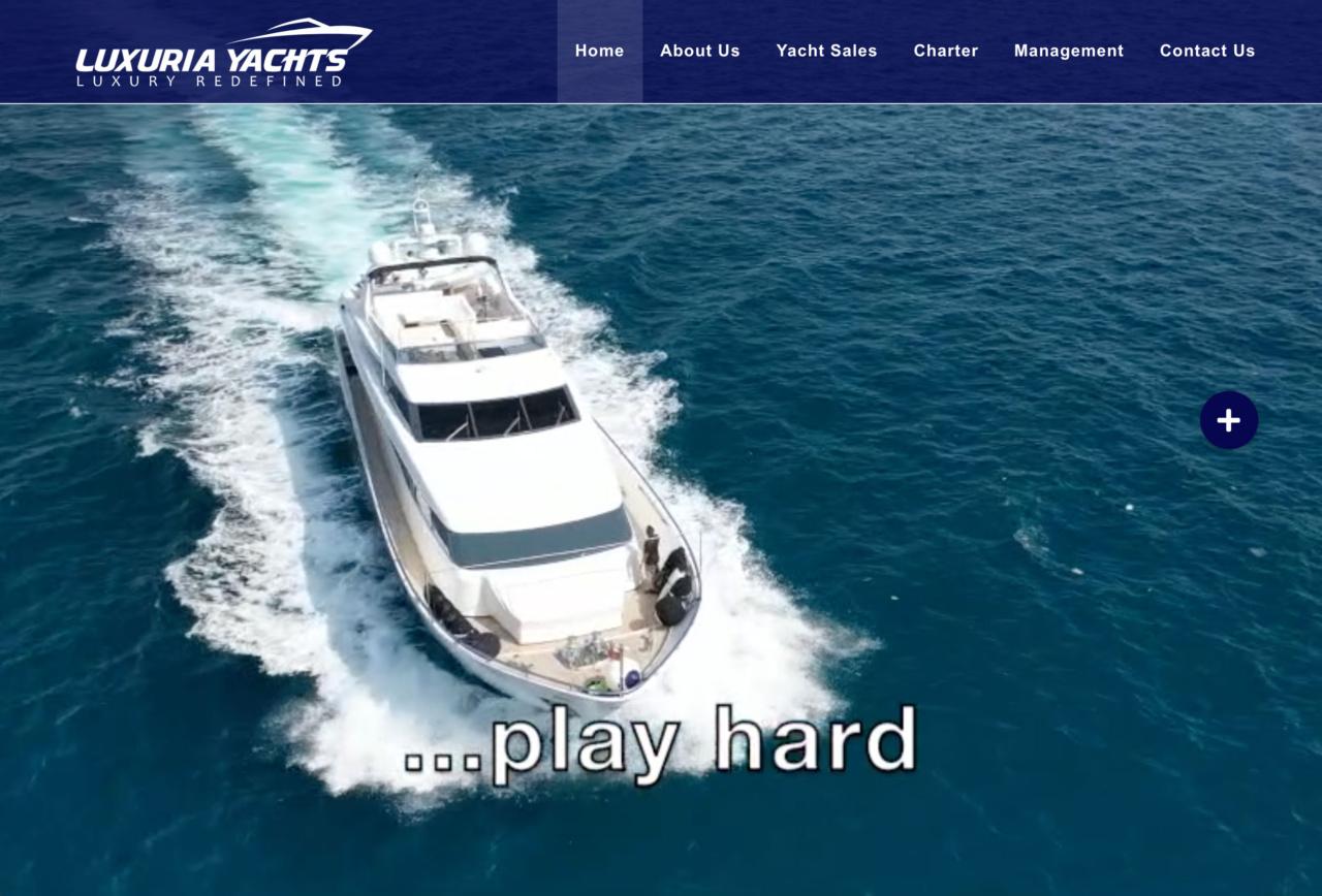 Luxuria Yachts