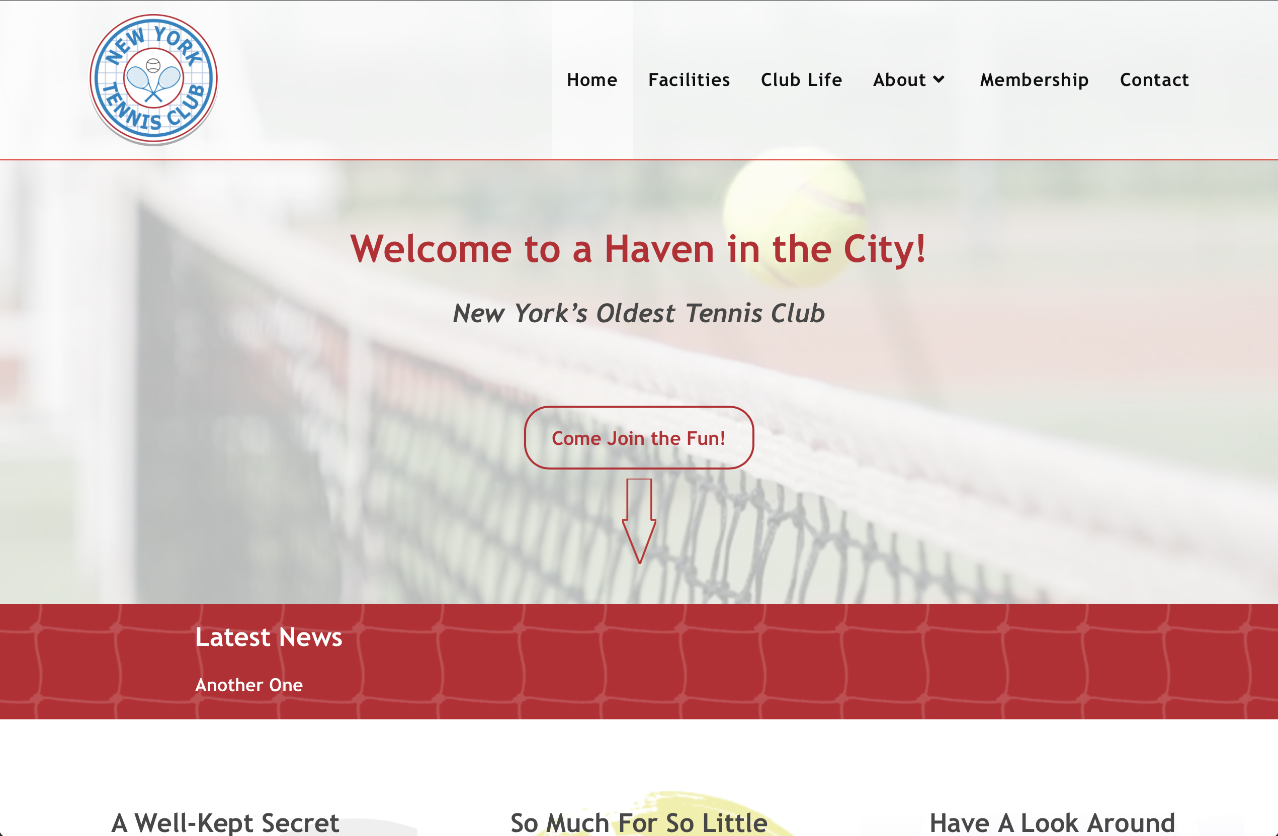 You are currently viewing New York Tennis Club
